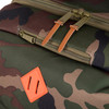detail Parcel Woodland Camo/Orange Rubber