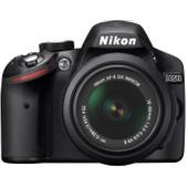 Nikon D3200 + AF-S DX 18-55mm VR II zwart