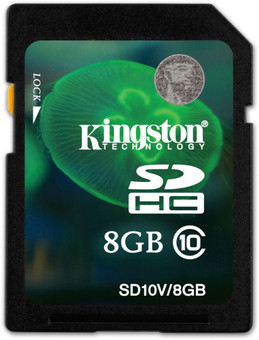 Kingston SDHC 8GB Class 10 UHS-1