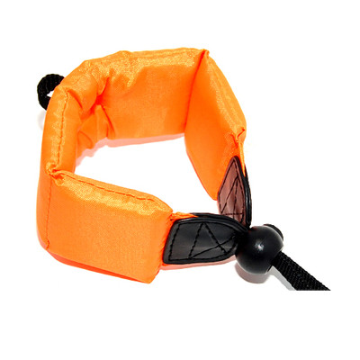 Image of JJC Floating Foam Wrist Strap Orange