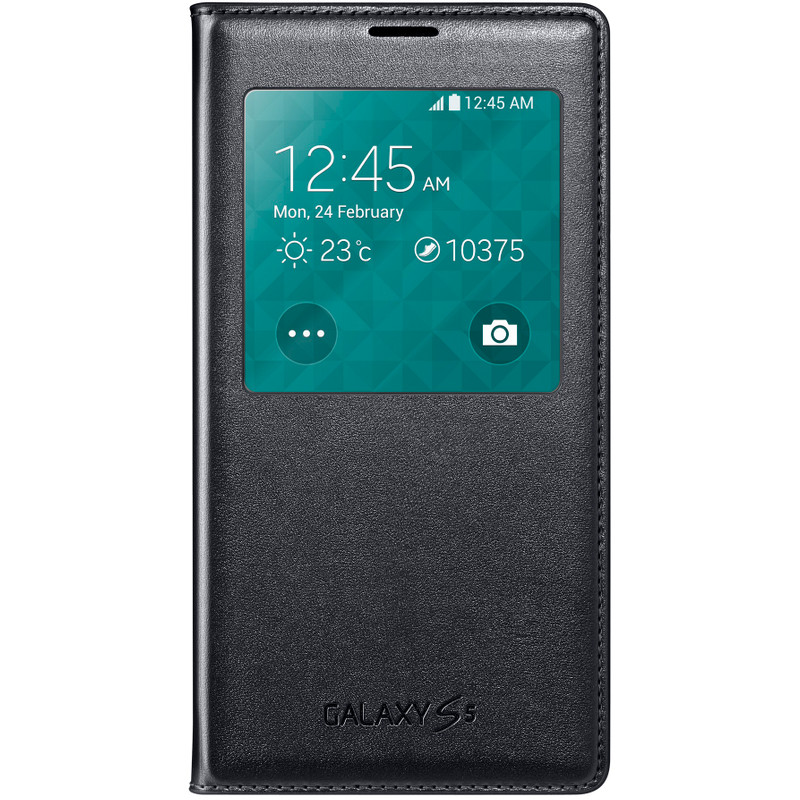 Samsung Galaxy Alpha S View Cover Zwart