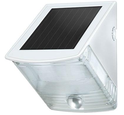 Brennenstuhl Solar LED-wandlamp met bewegingssensor Wit