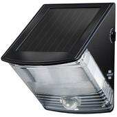 Brennenstuhl Solar LED-wandlamp met bewegingssensor Zwart