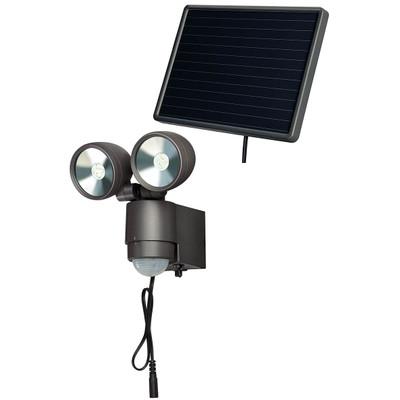 Brennenstuhl Solar LED-spot met bewegingssensor Antraciet