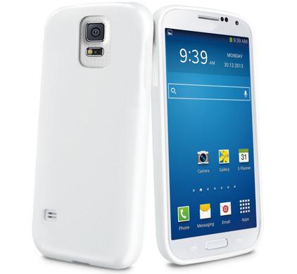 Muvit Minigel Case Samsung Galaxy S5 Wit