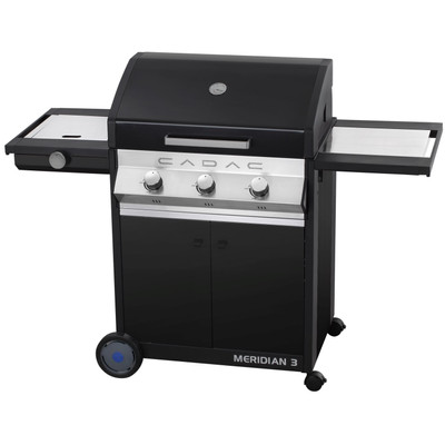 Barbecues Cadac Meridian 3B + SB Black