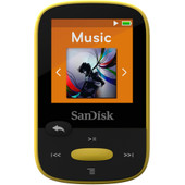 Sandisk Sansa Clip Sports 4GB Geel