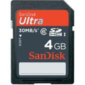 SanDisk SDHC Ultra 4 GB