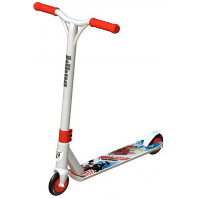 JD Bug Freestyle MS 118BMX Rood/Wit