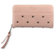 Fab Universal Wallet Case Studs Salmon