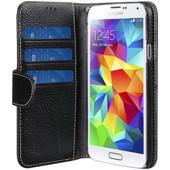 Melkco Leather Wallet Samsung Galaxy S5 Black