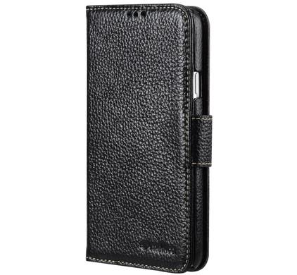 Melkco Leather Wallet Samsung Galaxy Note 4 Zwart