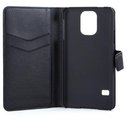 Xqisit Slim Wallet Case Samsung Galaxy S5 Zwart