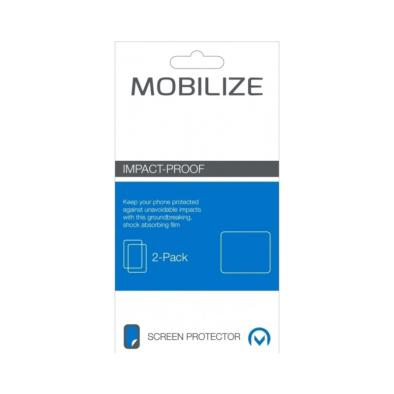Mobilize Screenprotector Iphone 6 Plus/6s Plus Impact Proof