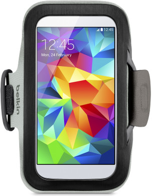 Belkin SlimFit Armband Samsung Galaxy S5 Zwart
