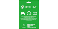 Xbox Live Gold Lidmaatschap (3 maanden)