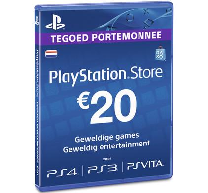 PlayStation Network Voucher Card 20 Euro NL
