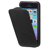 Decoded Leather Flipcase Apple iPhone 5/5S/SE Black