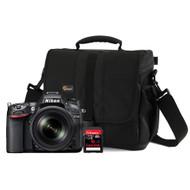 Nikon D7100 + geheugen + tas