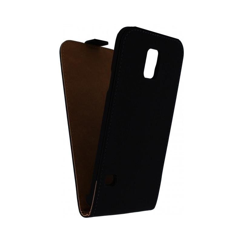Mobilize Ultra Slim Flip Case Samsung Galaxy Note Edge Zwart