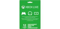 Xbox Live Gold Lidmaatschap (12 maanden)
