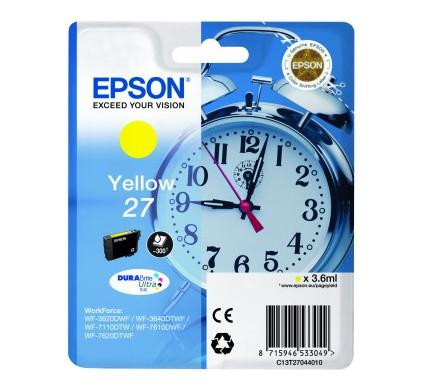 Epson 27 Cartridge Geel C13T27044010