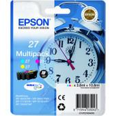 Epson 27 Combo Pack 3-Kleuren C13T27054010