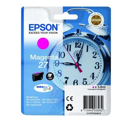 Epson 27 Cartridge Magenta C13T27034010