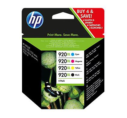 HP 920XL Combo Pack 4-Kleuren (C2N92AE)