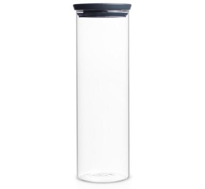 Brabantia Glazen Voorraadbus 1,9L