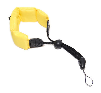JJC Floating Foam Wrist Strap Yellow