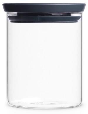 Brabantia Glazen Voorraadbus 0,6L