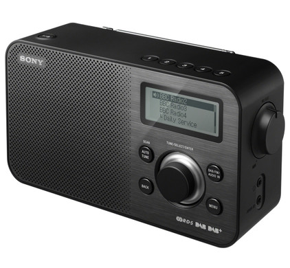 Sony XDR-S60DBP Zwart
