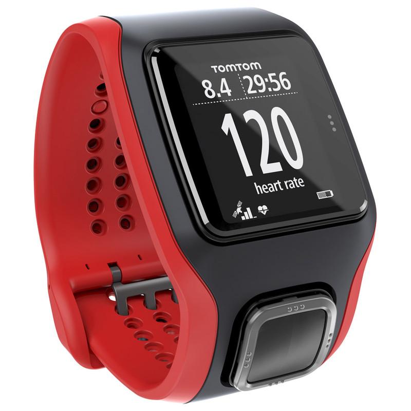 Tomtom Runner Cardio Black/red
