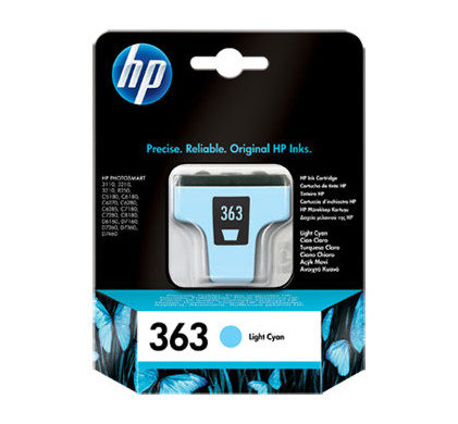HP 363 Cartridge Lichtcyaan (C8774EE)