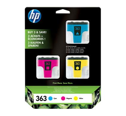 HP 363 Combo Pack 3-kleuren (CB333EE)