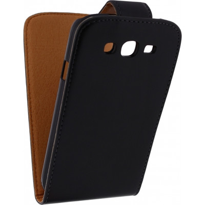 Xccess Leather Flip Case Samsung Galaxy Grand Neo Black