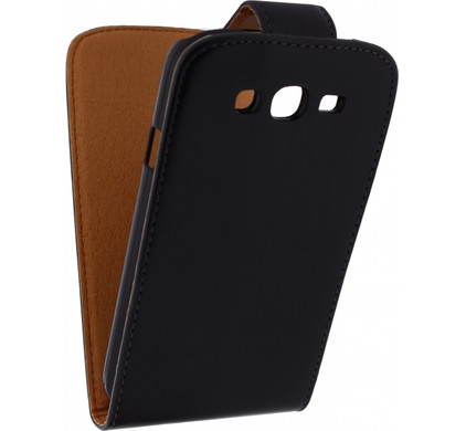 Xccess Leather Flip Case Samsung Galaxy Grand Neo/Grand Neo Plus Zwart