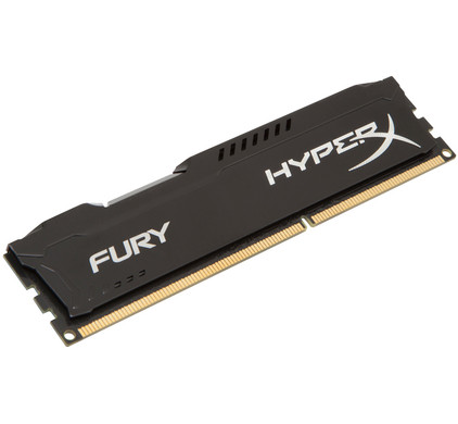 Kingston HyperX FURY 4 GB DIMM DDR3-1600 zwart