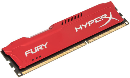 Kingston HyperX Fury 4 GB DIMM DDR3-1866 rood