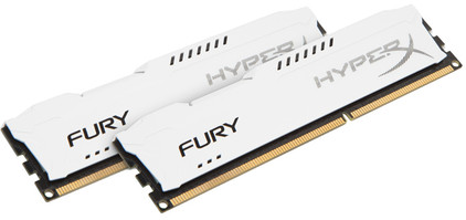 Kingston HyperX FURY 16 GB DIMM DDR3-1866 wit 2 x 8 GB