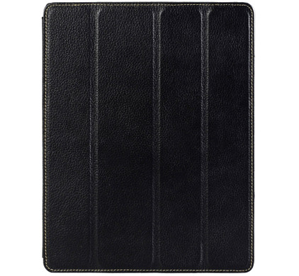 Melkco Leather Case Apple iPad 2 / 3 / 4 Black