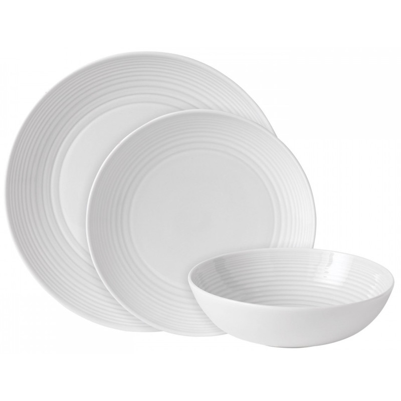 Royal Doulton Gordon Ramsay Maze Serviesset 12-delig White