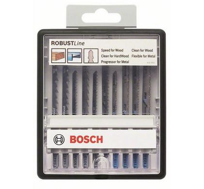 Bosch Robust Line Zaagbladenset (10x)