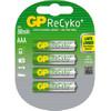 GP ReCyko+ oplaadbare AAA 4 x
