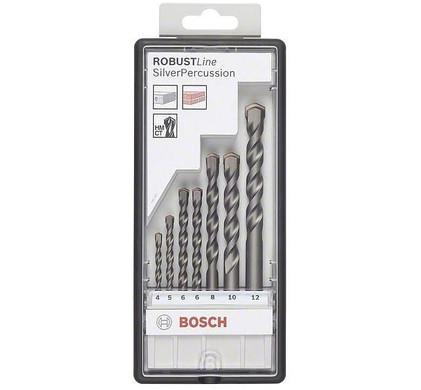 Bosch Robust Line 7-delige Steenborenset