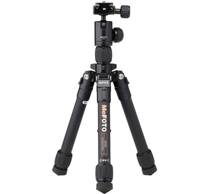 MeFOTO DayTrip Travel Tripod Kit Zwart