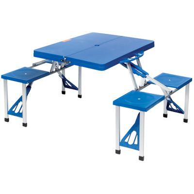 Image of Camp Gear - Picknicktafel - Basic - Inklapbaar - Blauw