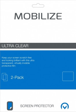 Mobilize Screenprotector HTC One M8 Duo Pack