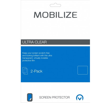 Mobilize Screenprotector Samsung Galaxy Note 4 Duo Pack